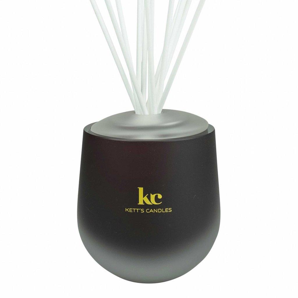 KETT'S CANDLES vonný difuzér velký, vínový, MAT 2