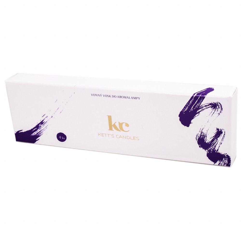 Vonný vosk KETT'S CANDLES s vůní Sage Pomegranate