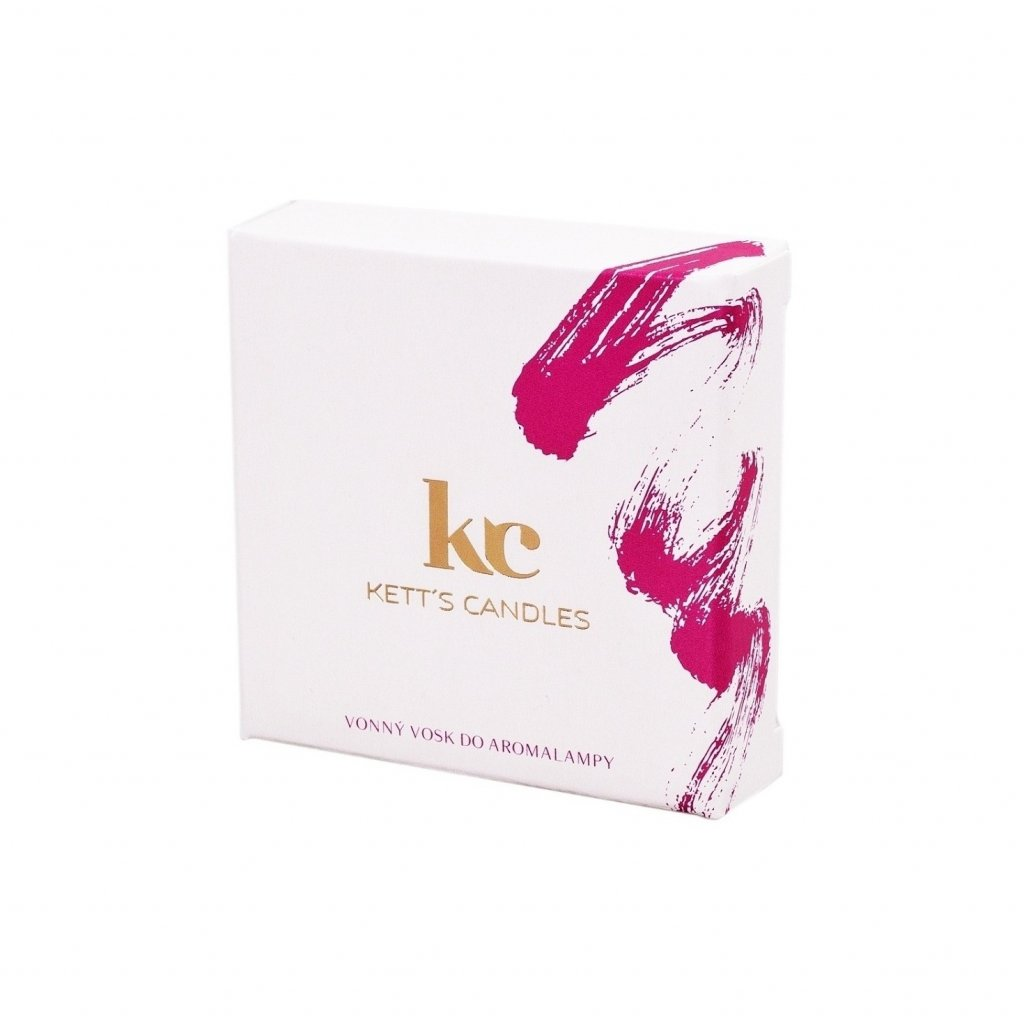 Vonný vosk KETT'S CANDLES s vůní Romantic Peony