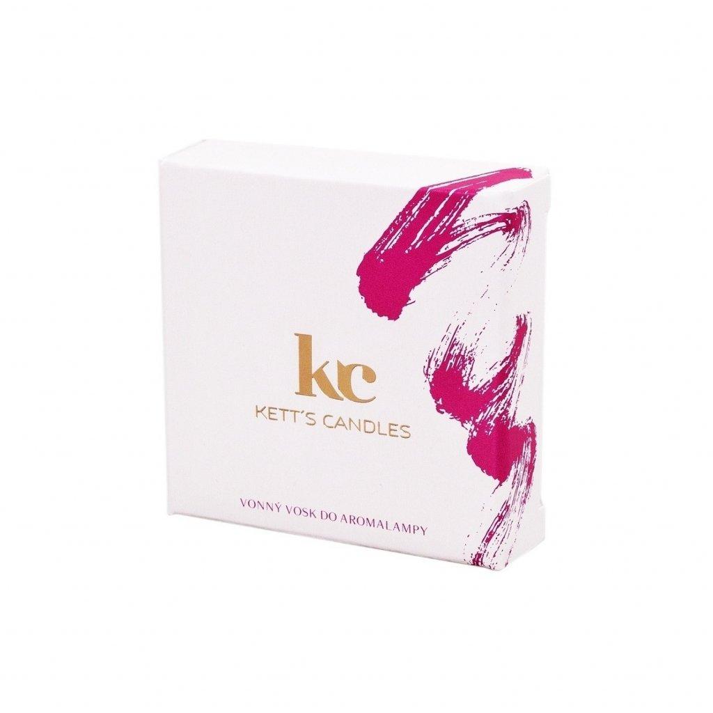Vonný vosk KETT'S CANDLES s vůní Gardenie