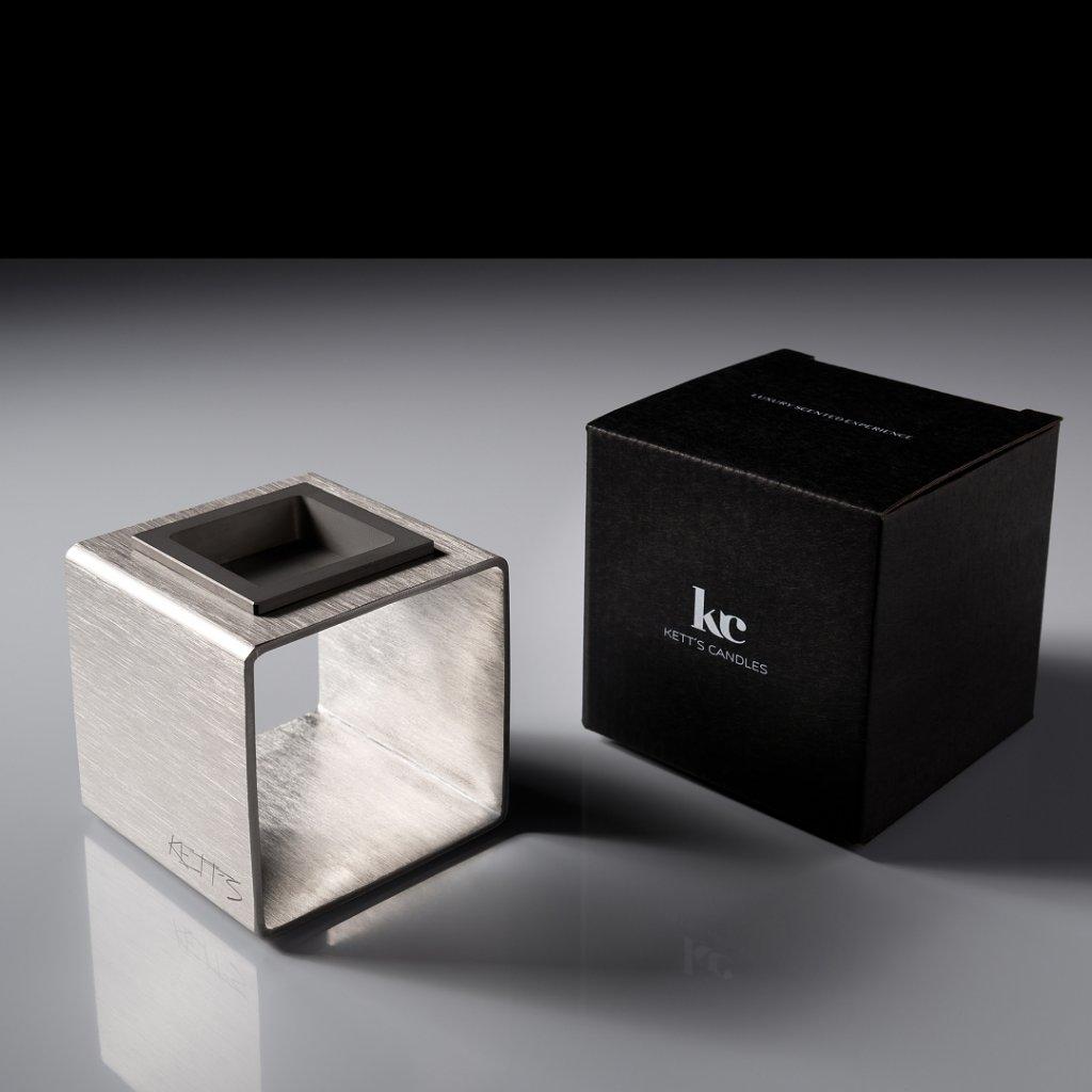 Aromalampa KETT'S CANDLES černé balení