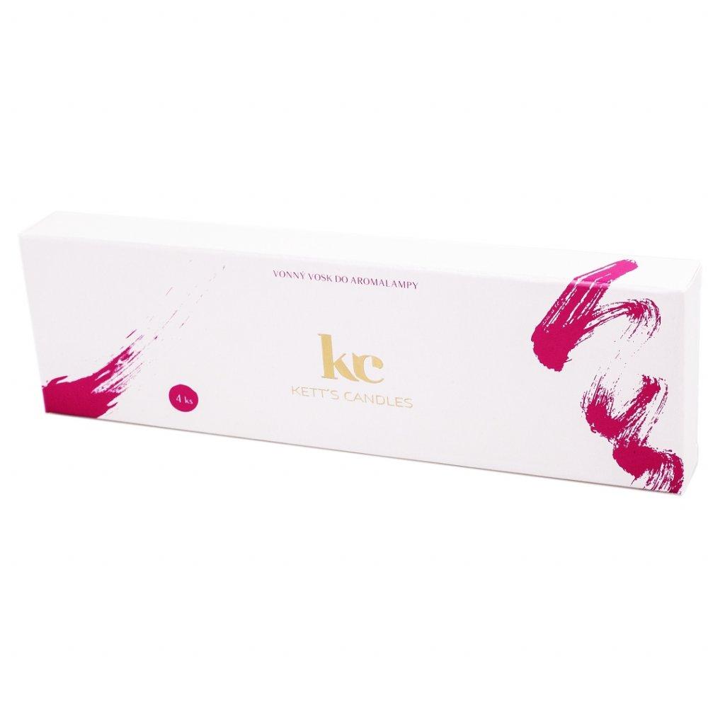 Vonný vosk KETT'S CANDLES s vůní Violet Lime