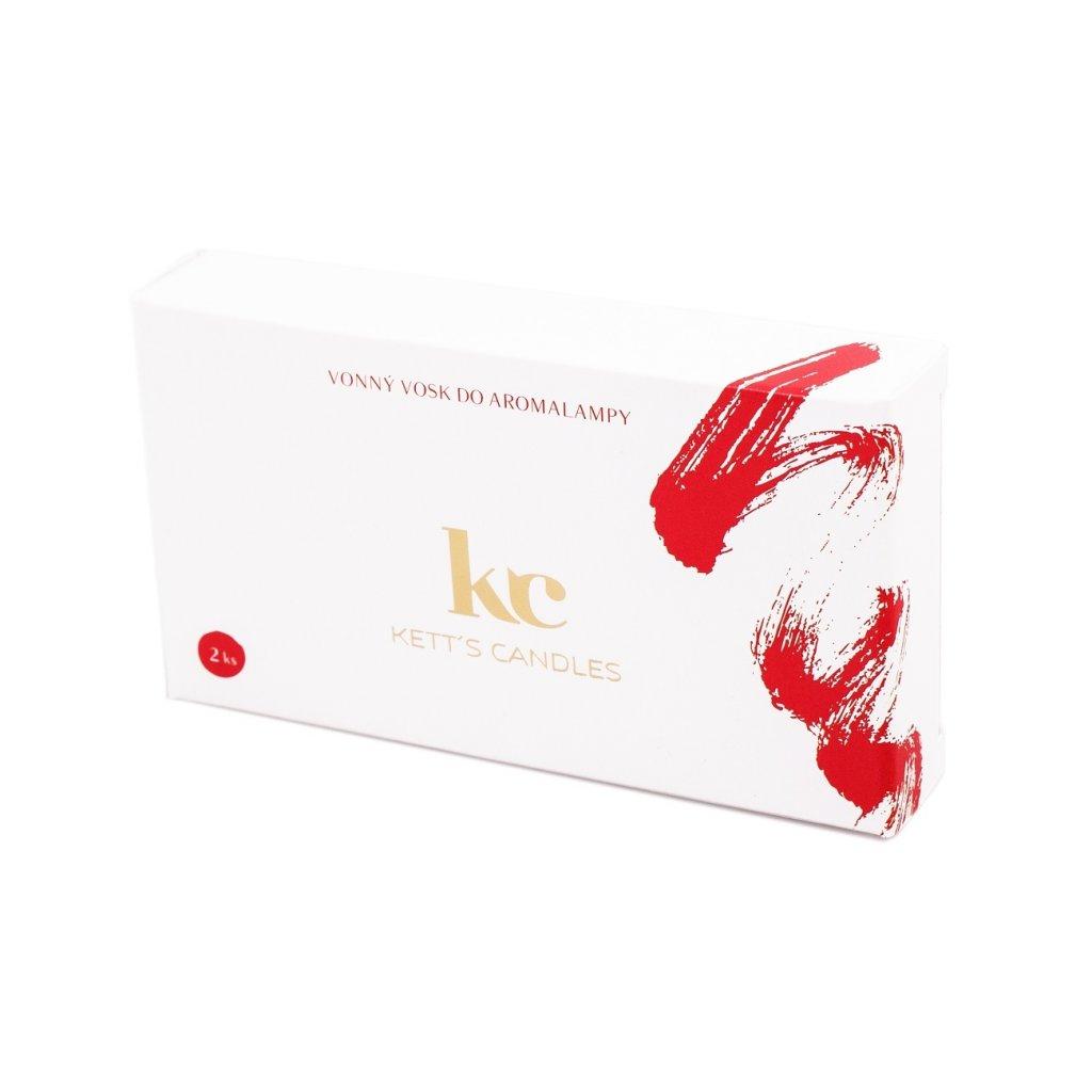 Vonný vosk KETT'S CANDLES s vůní Christmas Hearth