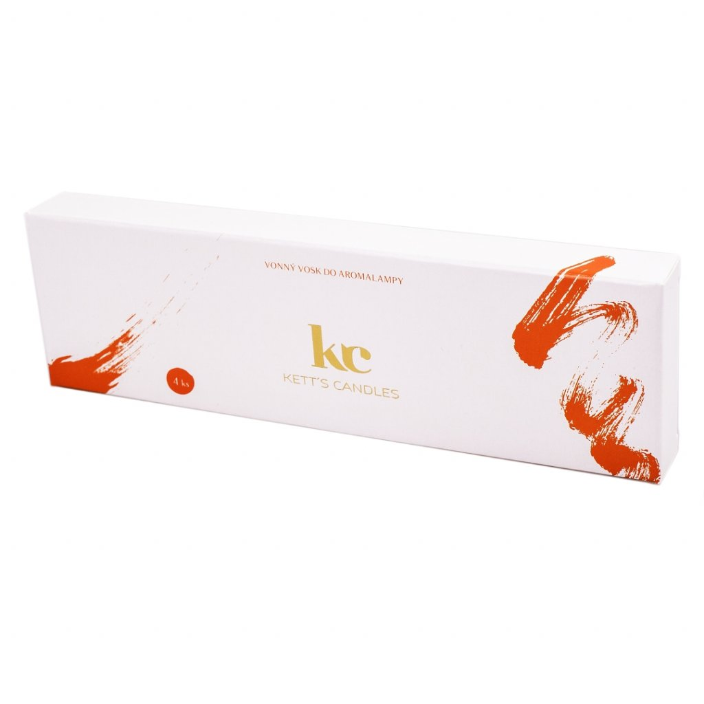 Vonný vosk KETT'S CANDLES s vůní Sun Rippened Raspberry
