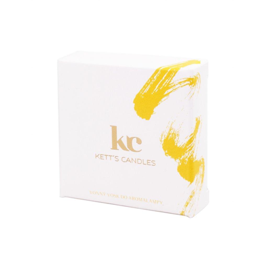 Vonný vosk KETT'S CANDLES s vůní Strudel Spice