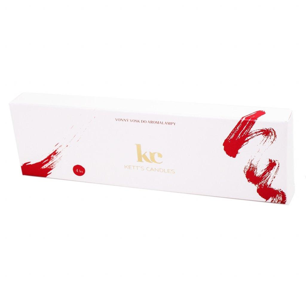 Vonný vosk KETT'S CANDLES s vůní Christmas Chocolate