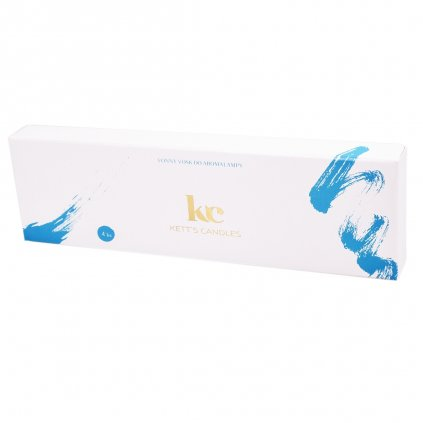 KETT'S CANDLES vonné vosky modrá 4ks