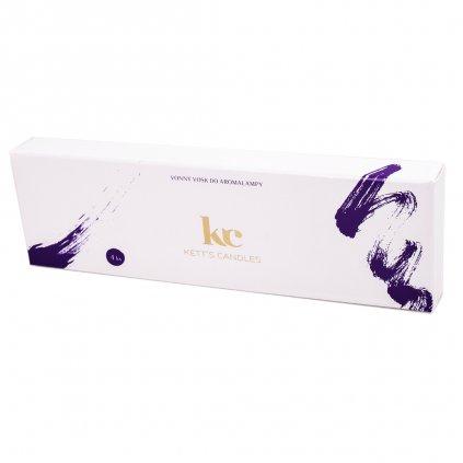 KETT'S CANDLES vonné vosky fialová 4ks