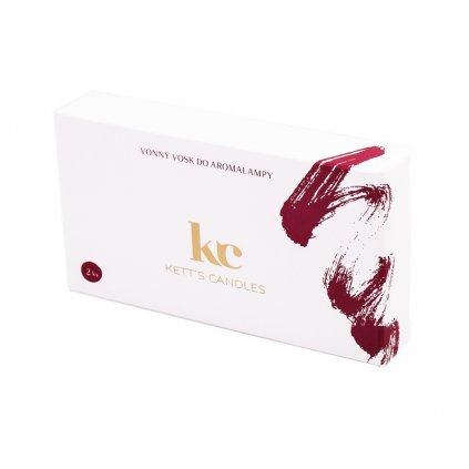KETT'S CANDLES vonné vosky vínová 2ks 1300x1300