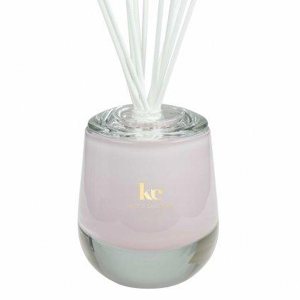 KETT'S CANDLES vonný difuzér velký,ružový, lesk