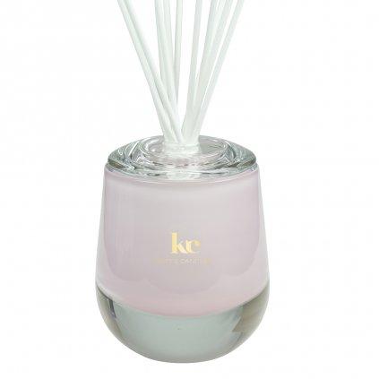 KETT'S CANDLES vonný difuzér velký,ružový, lesk2