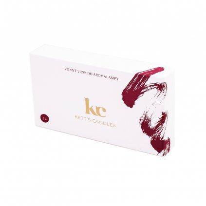 KETT'S CANDLES vonné vosky vínová 2ks