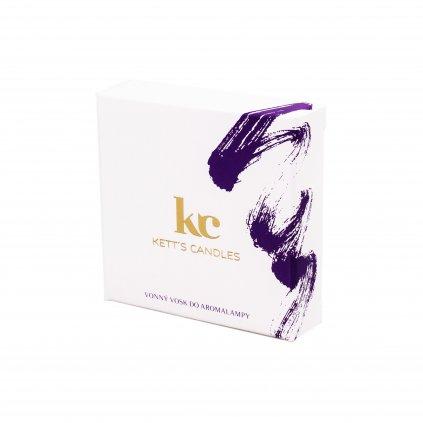 Vonný vosk KETT'S CANDLES s vůní Black Diamond