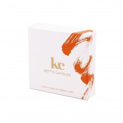 Vonný vosk KETT'S CANDLES s vůní Plumberry