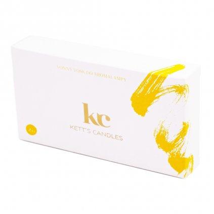 Vonný vosk KETT'S CANDLES s vůní Creme Brulee