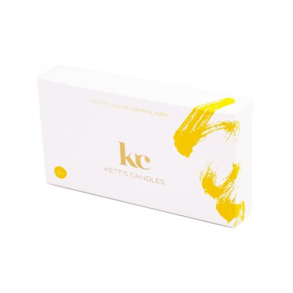 Vonný vosk KETT'S CANDLES s vůní Pain au Raisin