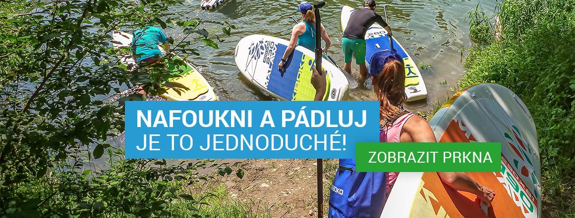 Nafoukni paddleboard a pádluj! - Je to jednoduché!
