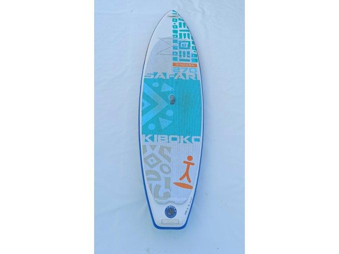 Paddleboard Kiboko Safari 270 WindSUP - půjčovna  + Pumpa + Batoh + 9'' ploutvička