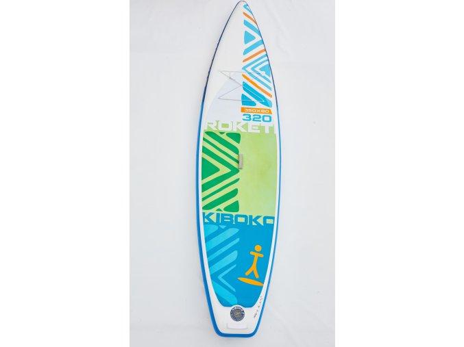 Paddleboard Kiboko Roketi 320 - půjčovna  + Pumpa + Batoh