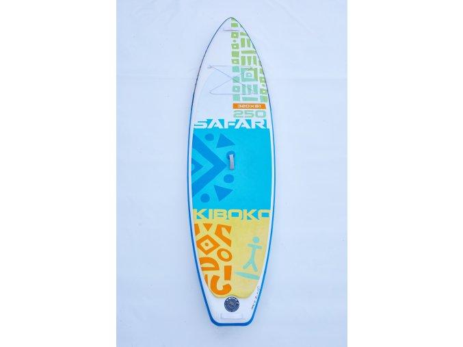 Paddleboard Kiboko Safari 250 FT - půjčovna  + Pumpa + Batoh