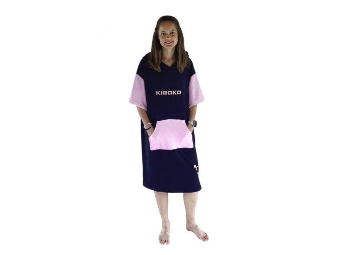 Převlékací poncho Kiboko - růžové