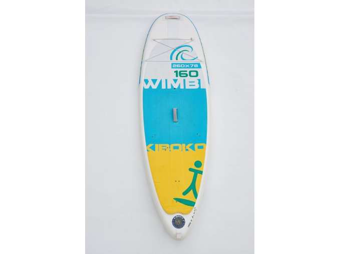 Paddleboard Kiboko Wimbi 160 FT WINDSUP - testboard  + Pumpa + Batoh + poutka