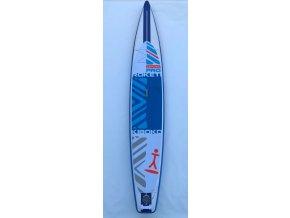 Paddleboard Kiboko Roketi Pro 64 - tesboard  + Pumpa + Batoh