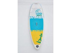 Paddleboard Kiboko Wimbi 160 WINDSUP s poutky - testboard  + Pumpa + Batoh + poutka