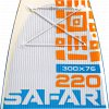 Paddleboard Kiboko Safari 220 FT windSUP  + Pumpa Kiboko + Batoh Kiboko + Středová ploutev
