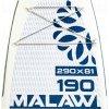 Paddleboard Kiboko Malawi 190 DL windSUP  + Pumpa Kiboko + Batoh Kiboko + Středová ploutev
