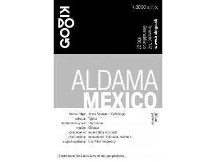 Kidogo etikety Aldama