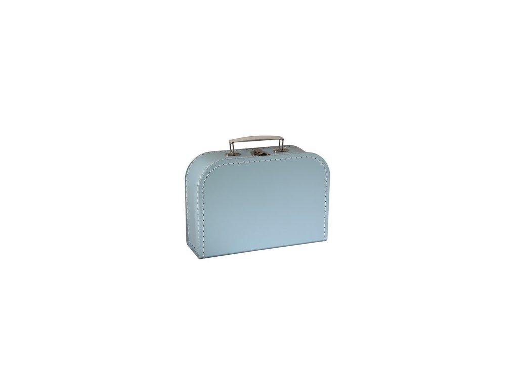 KAZETO | Modrý kufřík 25 cm
