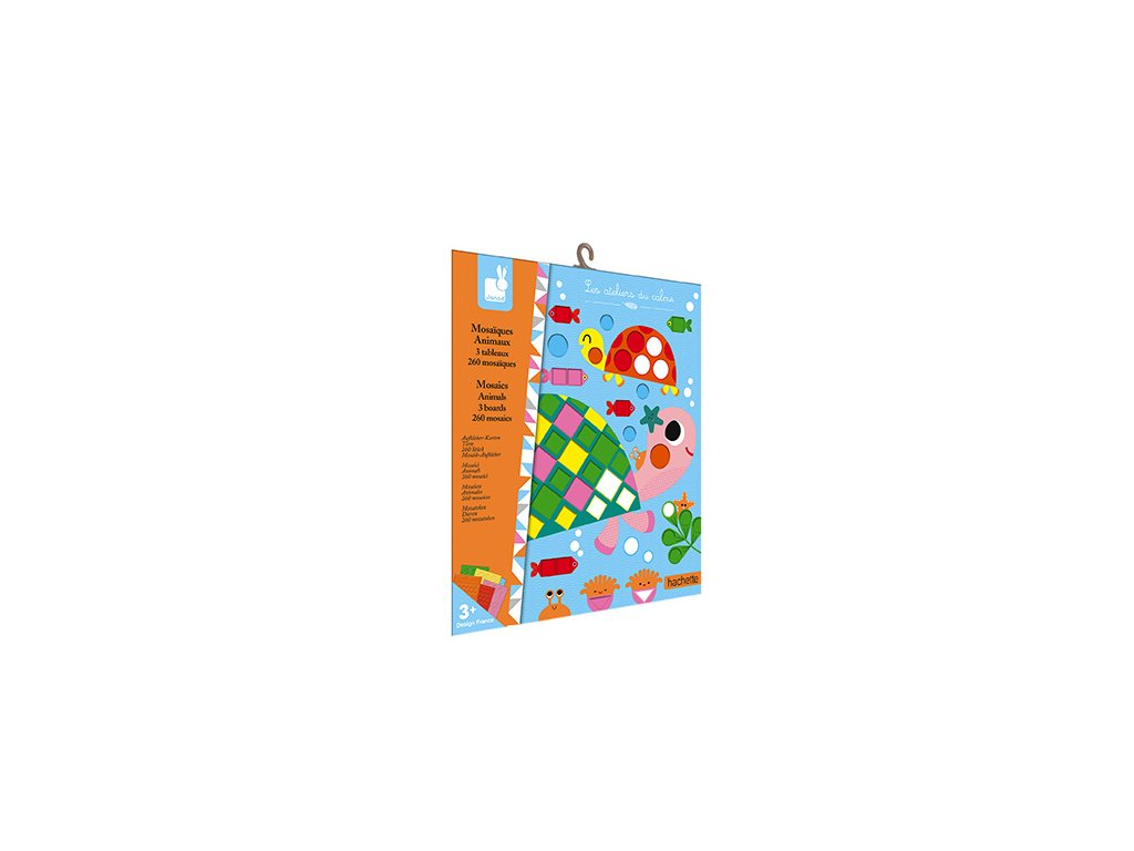 J07899 Janod mozaika zvieratka kreativna sada mini 01