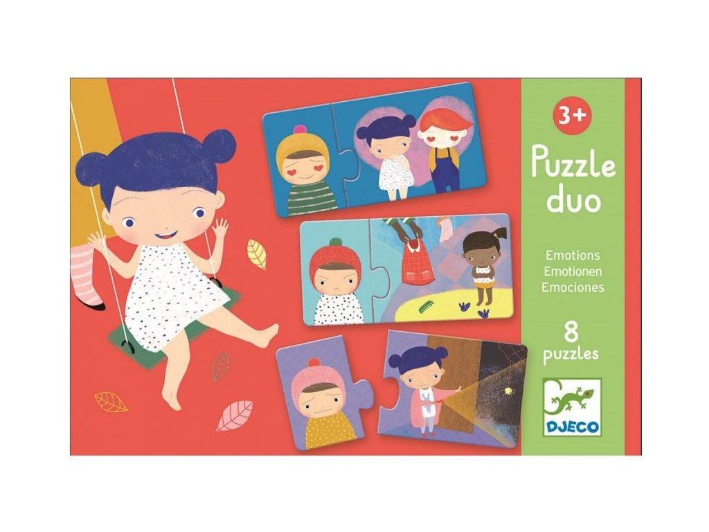 DJ08152 Duo puzzle Emoce 1