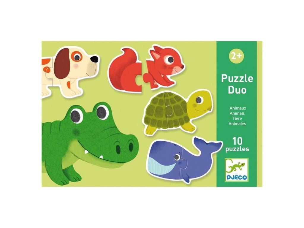 DJ08147 Duo puzzle Zvířátka 1