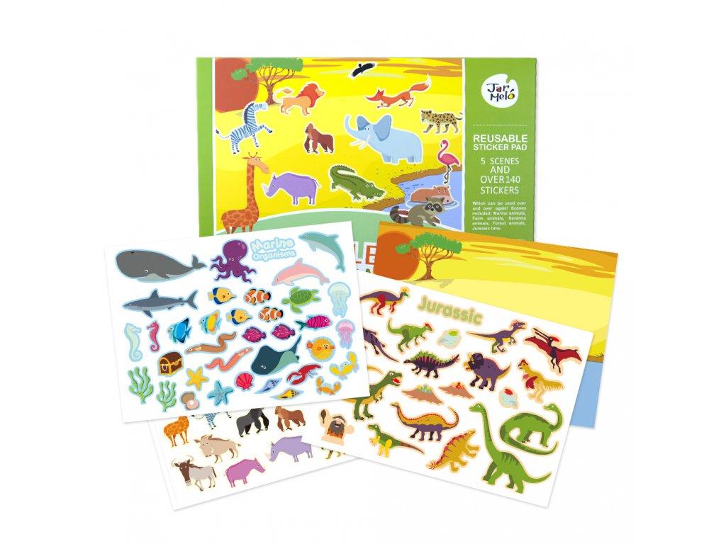 Reusable Sticker Pad JA90534 11111