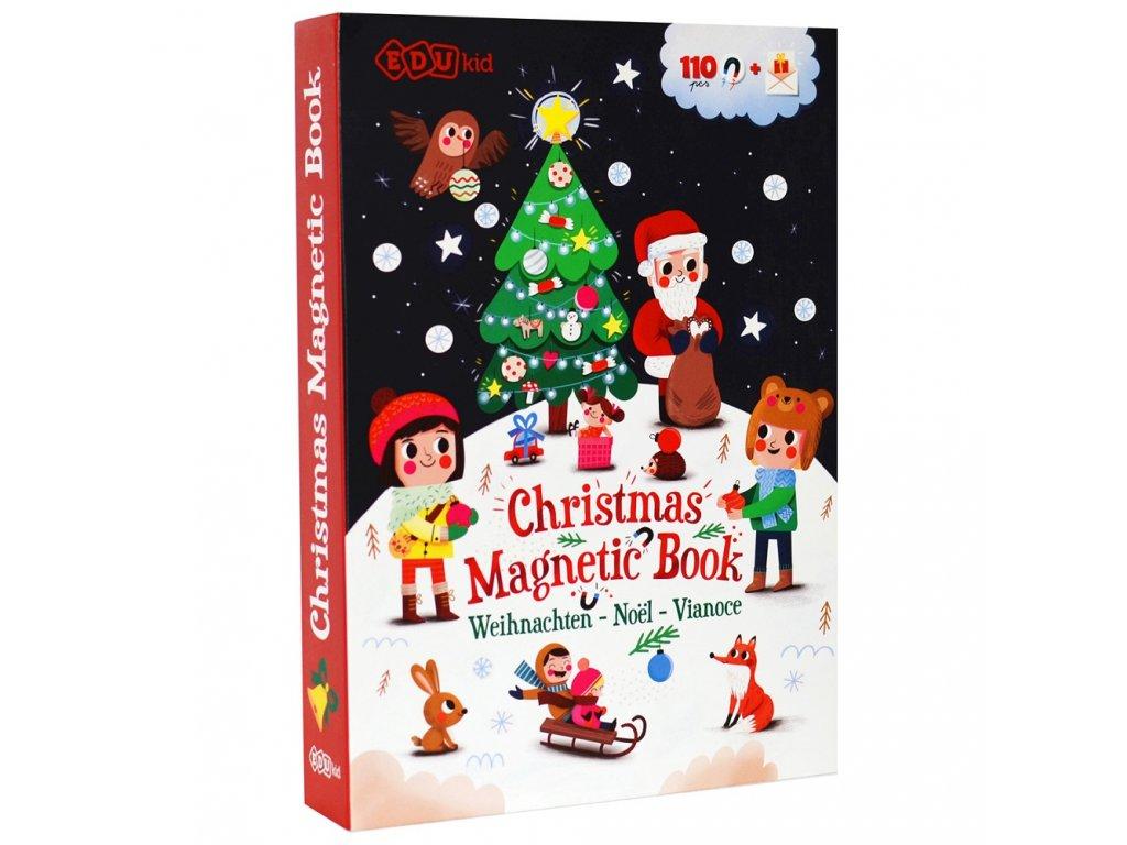 magneticka kniha vianoce 8 minilove