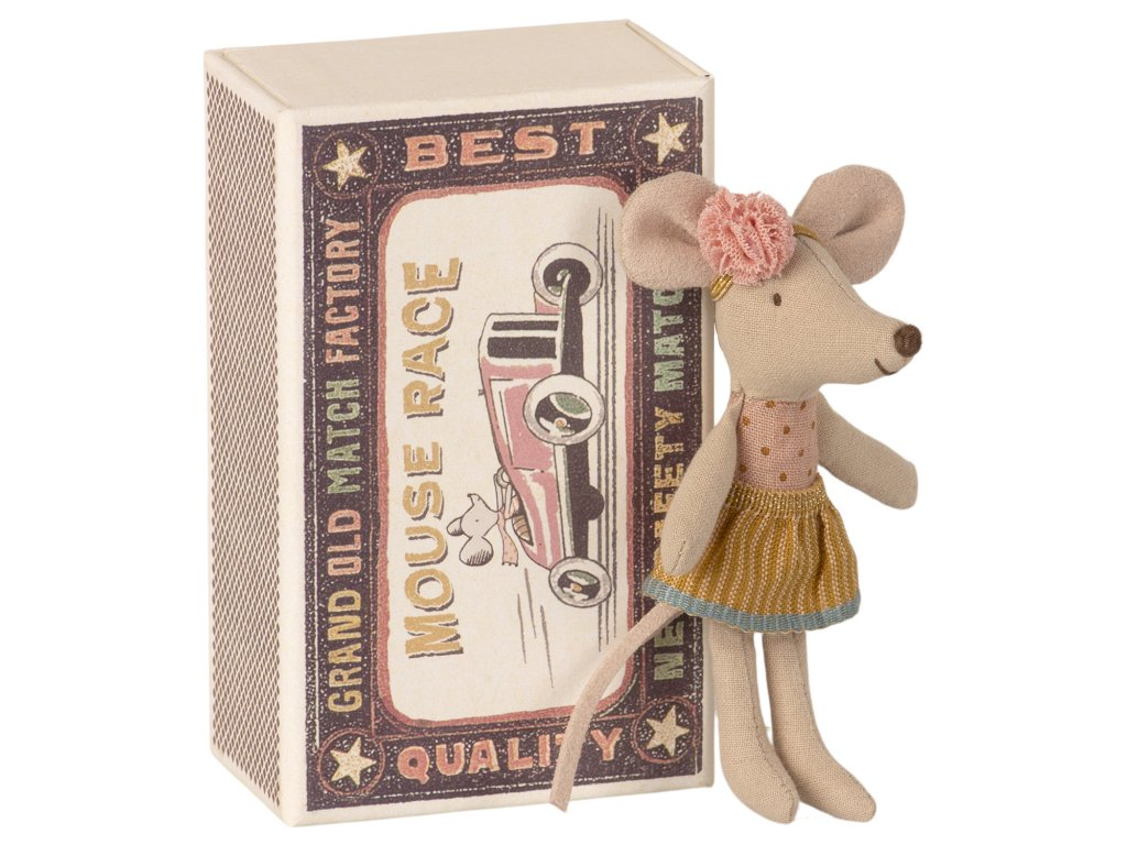 Maileg | Myška Malá sestra v krabičce
