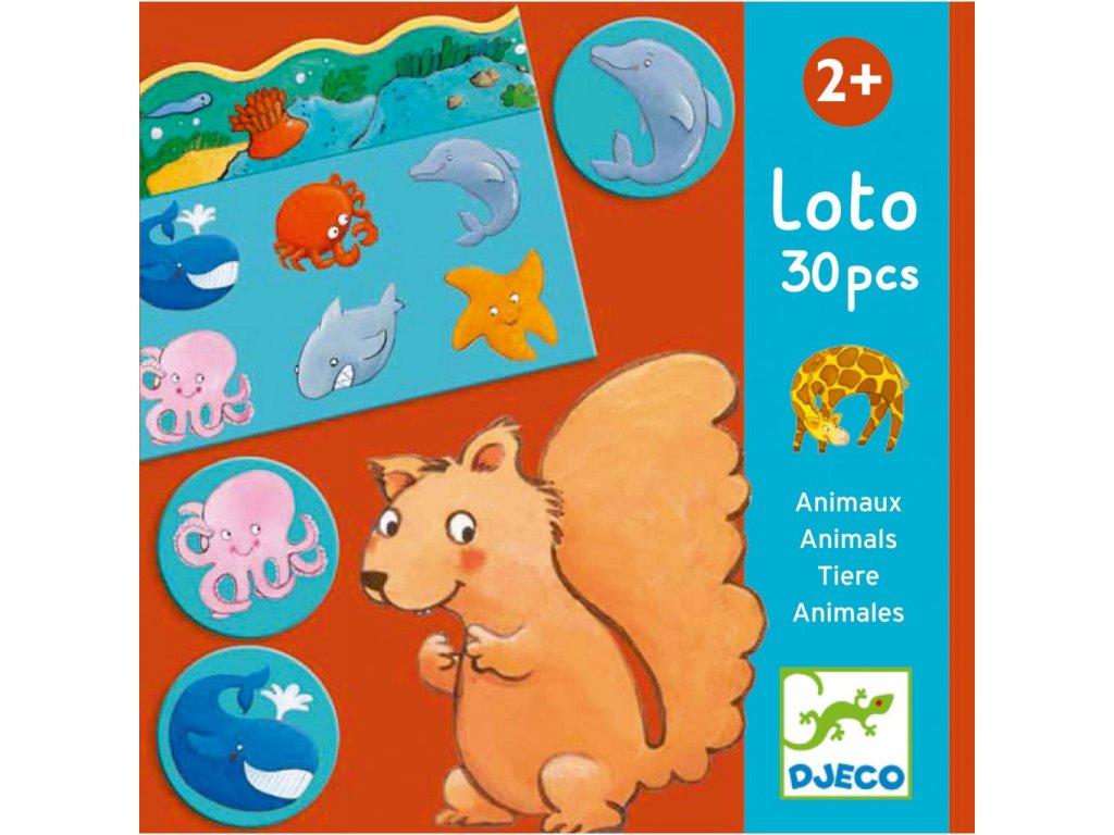DJ08120 Zvířátkové loto 1