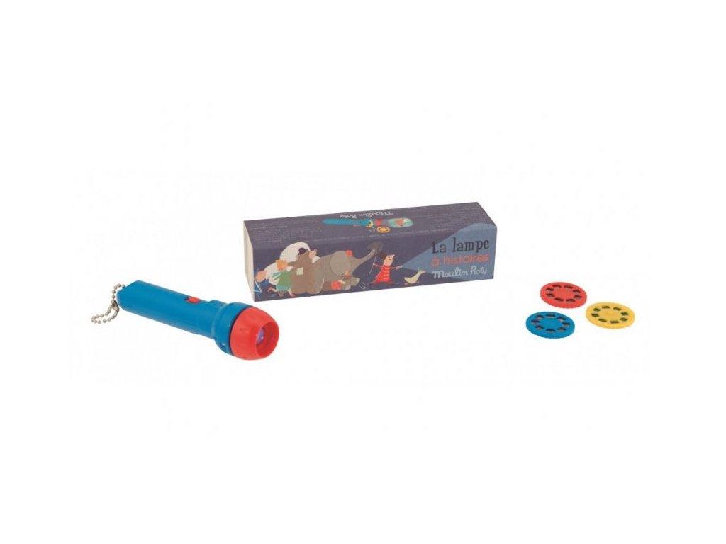 MR711045 Kapesní promítačka Příběhy z cirkusu 1