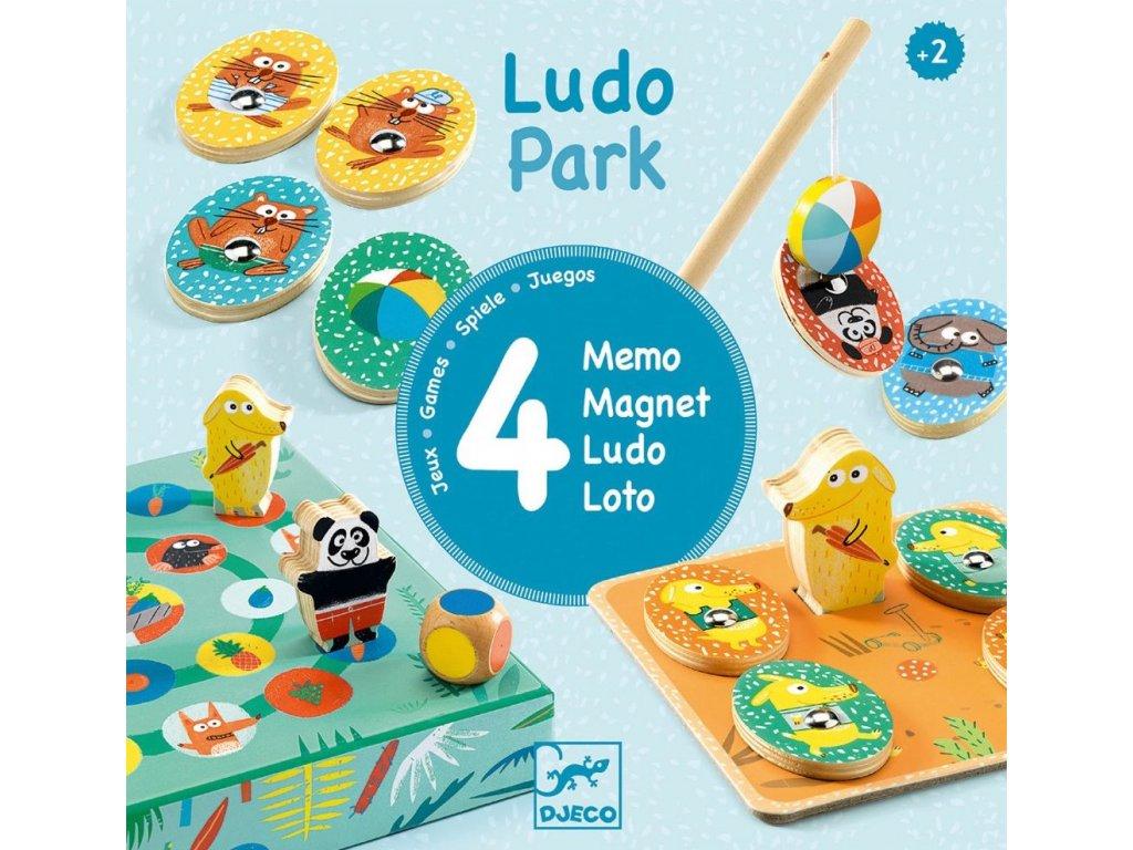 DJ01698 Ludo Park 4 hry 1