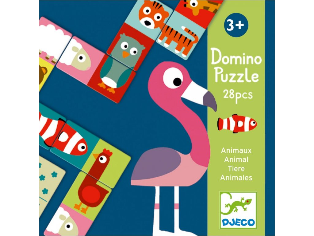 DJ08165 Domino Zvířátka 1