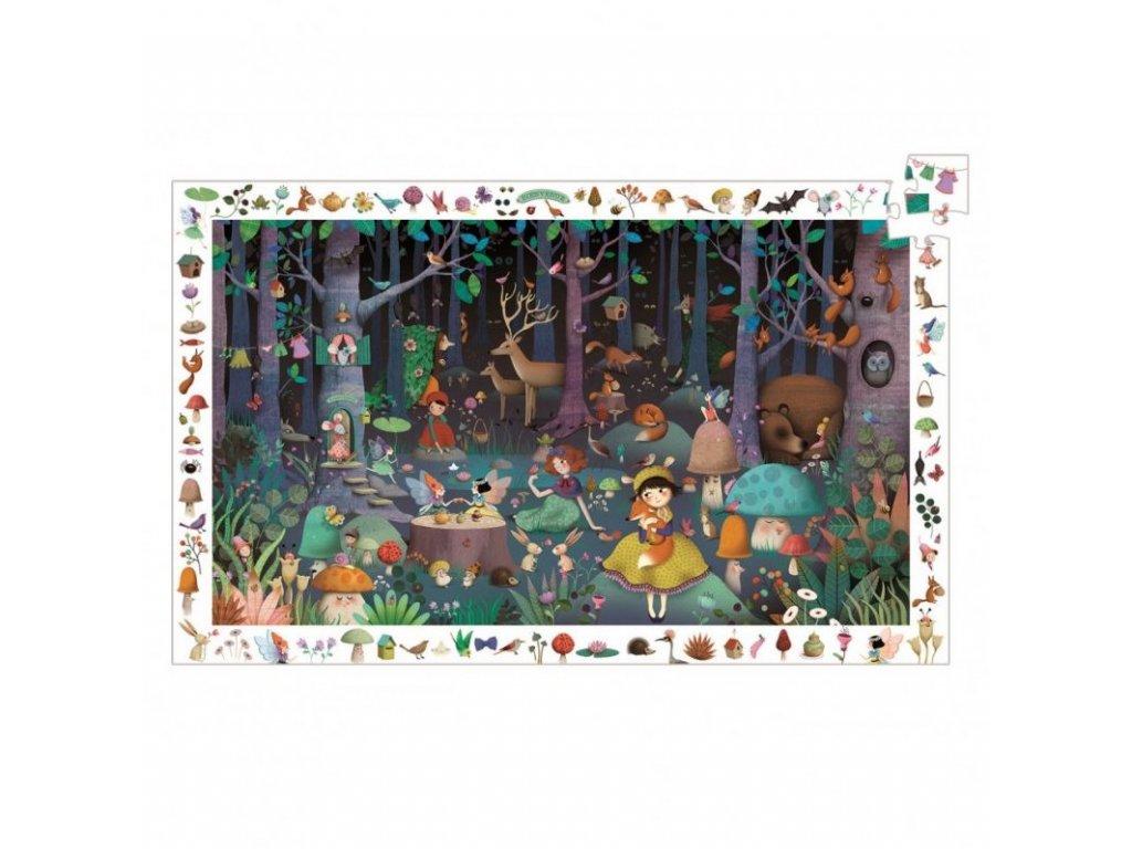 DJ07504 Puzzle Pohádkový les