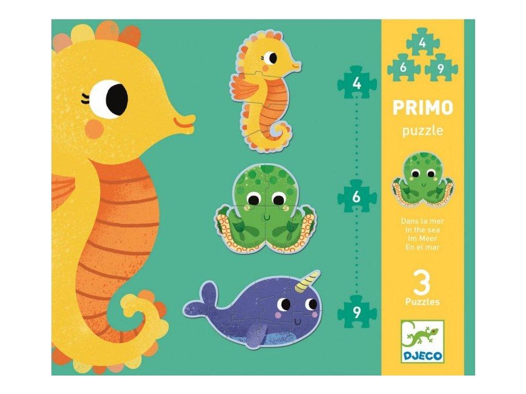 DJ07144 Puzzle pro nejmenší Pod mořem