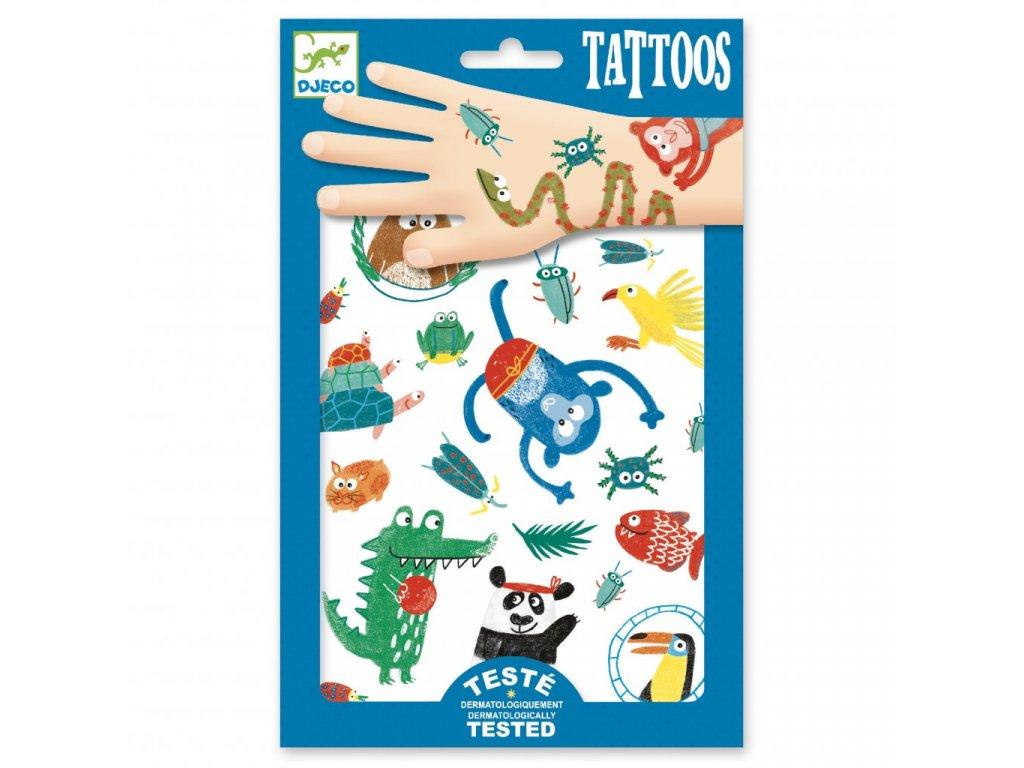 DJ09576 Tetování V jungli 1