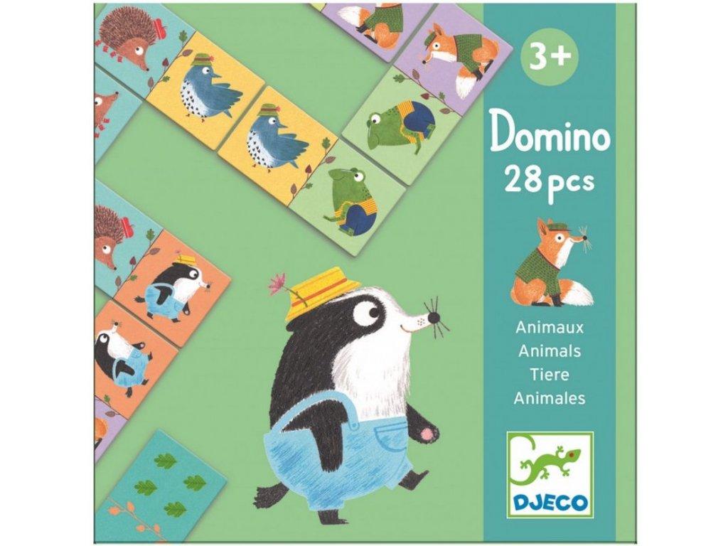 DJ08115 Domino Lesní zvířátka 1