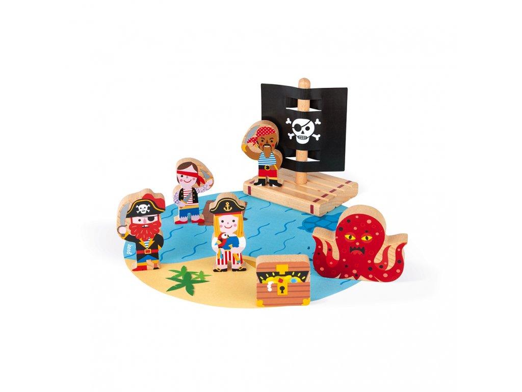 J08580 Janod pirati mini story 01