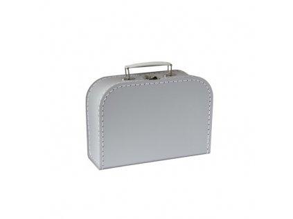 KAZETO   Šedý kufřík 25 cm