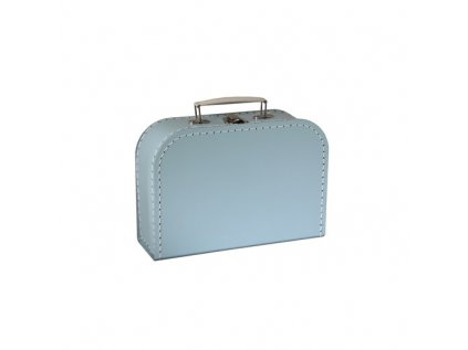 KAZETO   Modrý kufřík 25 cm