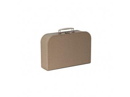 KAZETO   Přírodní kufřík 25 cm